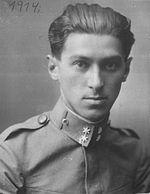 Фотографија Милоша Црњанског за време његове службе у аустроугарској војсци