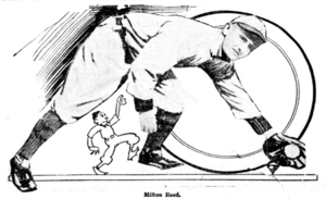 Milt Reed - Image: Milton reed baseball