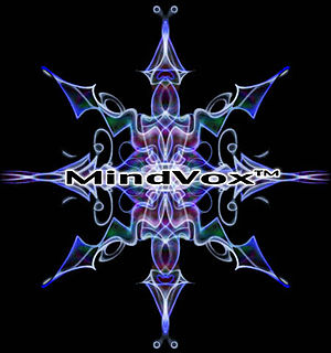 MindVox - MindVox logo, circa 2007 by Drew Ross.