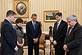 Minute of silence at White House for Sandy Hook school shooting.jpg