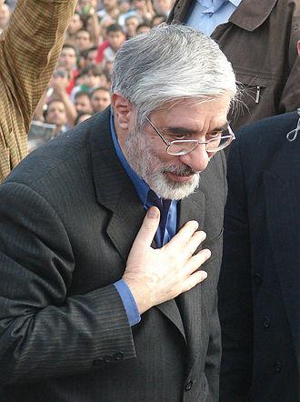 Order of Independence (Iran) - Image: Mir Hussein Mousavi Iranian reformist 1