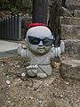 Miyajima little worship statue 2.jpg
