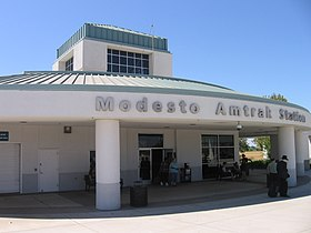 Image illustrative de l'article Gare de Modesto (Amtrak)