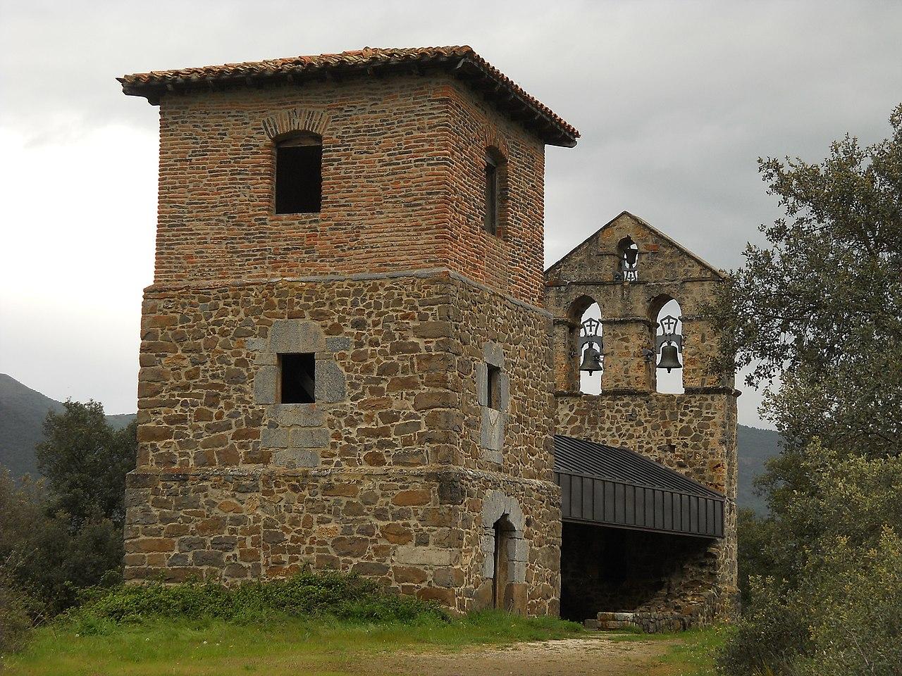 Monasterio SToribio Liebana Ermita SCatalina.JPG