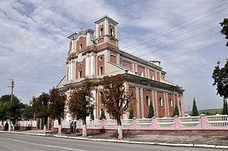 Monastyryska City in Ternopil Oblast, Ukraine
