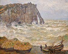 Monet - Mer agitée à Etretat.jpg