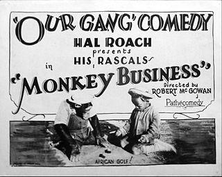 <i>Monkey Business</i> (1926 film) 1926 film