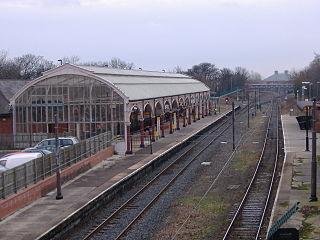 Monkseaton Metro station Tyne and Wear Metro station in North Tyneside
