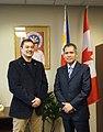 Monsour Del Rosario III w Consul General Neil Frank Ferrer.jpg