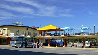 Montana, Bulgaria - Image: Montana Bulgaria central bus station