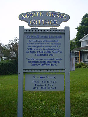 Monte Cristo Cottage - Sign at the cottage