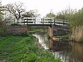 Montgomery Canal. Bridge near Maesbury Marsh - geograph.org.uk - 46935.jpg
