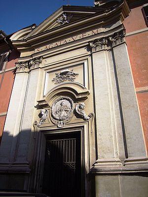 Sant'Agata dei Goti - Exterior