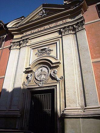 Sant'Agata de' Goti, Rome - Exterior
