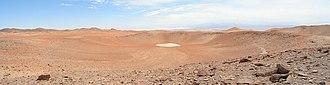 Monturaqui crater - Image: Monturaqui