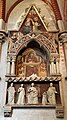 Monumento funebre dell'abate francese tommaso gallo, 1350 ca. 02.jpg