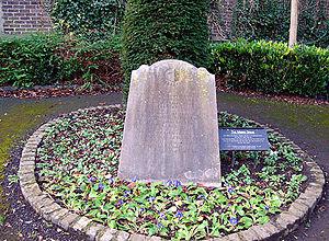 St. Kevin's Church, Camden Row, Dublin - Moore family plot in St. Kevin's Park.