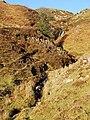 Moorland waterfall - geograph.org.uk - 1094444.jpg