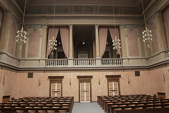 Constitutional Court of the Czech Republic - Image: Moravian Provincial Diet Assembly hall 01