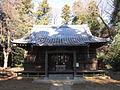 Moro-jinja (Nagareyama) haiden.JPG