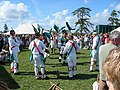 Morris men at the Wychwood Forest Fair Oxfordshire - geograph.org.uk - 242944.jpg