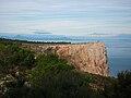 Morro Codina del cap de Sant Antoni, al fons el Mondúver i Cullera.jpg