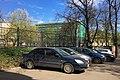Moscow, Pokrovsky Boulevard, telephone exchange building prepared to demolition (31132943091).jpg
