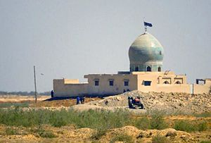 Kut - Mosque in Al Kut (2003)