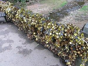 Most Ljubavi - Padlocks of the Bridge of Love