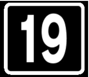 R132 road (Ireland) - Image: Motorway Exit 19 Ireland