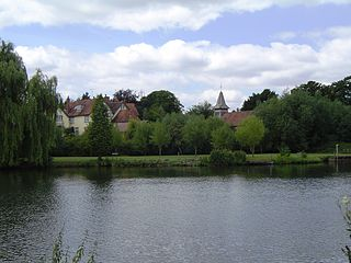 Moulsford Human settlement in England