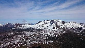 Mount Ossa (Tasmania) - Image: Mount Ossa sept 15