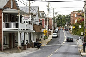 Mount Airy Historic District (Mount Airy, Maryland) - Main Street