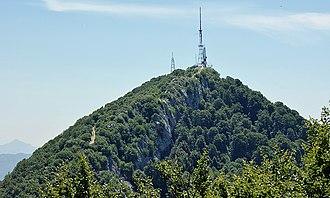 Dajti - Image: Mount Dajti Peak