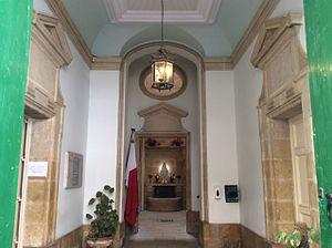Monte di Pietà (Malta) - Entrance hall