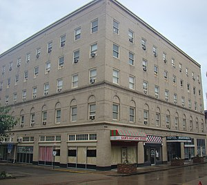 National Register of Historic Places listings in Mingo County, West Virginia - Image: Mountaineer Hotel; Williamson, West Virginia