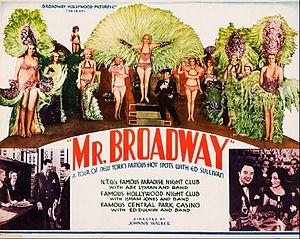 Mr. Broadway (1933 film) - Film poster