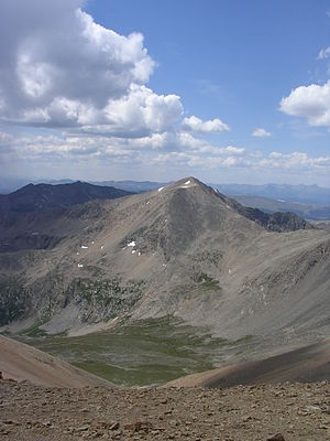 Mount Democrat - Mount Democrat as seen from Mount Bross