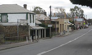 Mount Torrens, South Australia - Main street of Mount Torrens