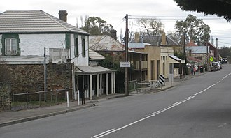 Mount Torrens, South Australia - Main street of Mount Torrens