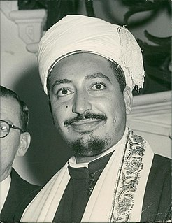 Muhammad al-Badr Prince of the Muttawakilite Kingdom of Yemen, Imam