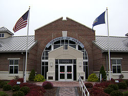 The Forks Township municipal building