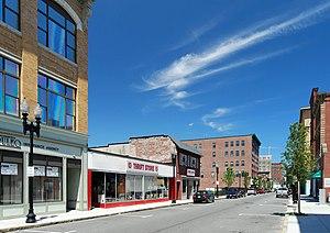 Munroe Street Historic District - Image: Munroe Street Lynn