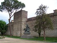 Mura di Campi Bisenzio, part nord (29-06-2008).jpg