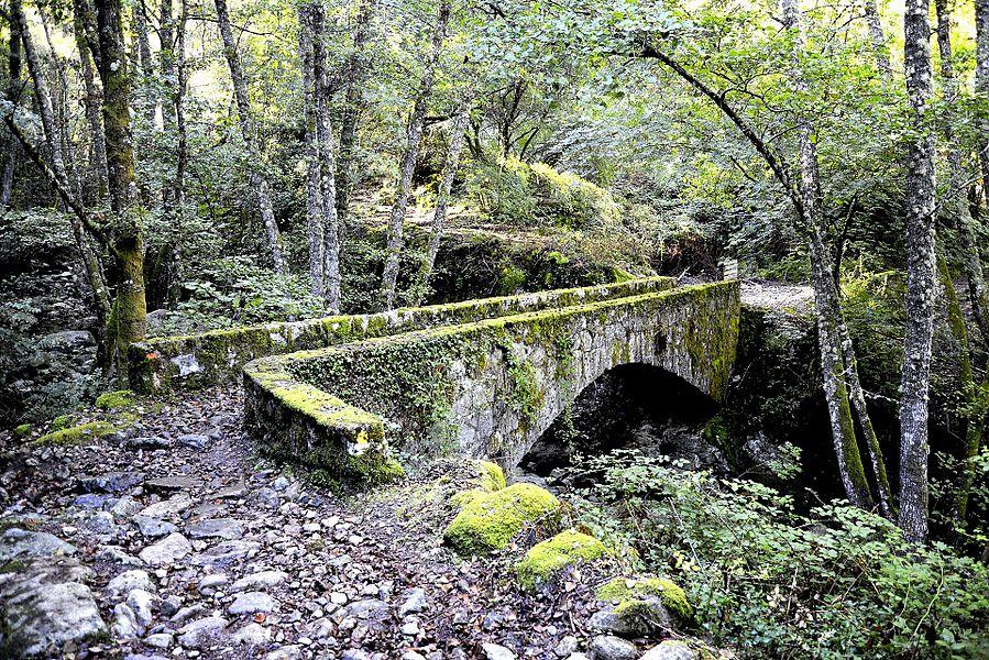 Muracciole, Centre Corse (Haute-Corse) - Pont sur le ruisseau de Santa Maria (ou de Focaticcio), affluent du Vecchio.