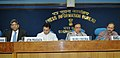 Murli Deora addressing a press conference at the launch of the 9th round of exploration block under New Exploration Licensing Policy (NELP-IX), in New Delhi on October 15, 2010.jpg