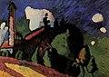Murnau, Landscape with a Tower (1908) 2л.jpg