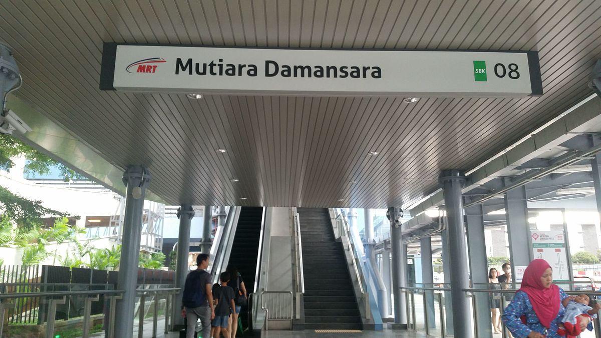 mutiara damansara mrt station