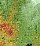 Myoko Volcano Relief Map, SRTM-1 (wide shot).jpg