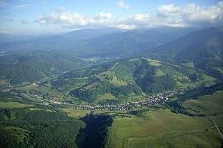 Horehronie region in Central Slovakia